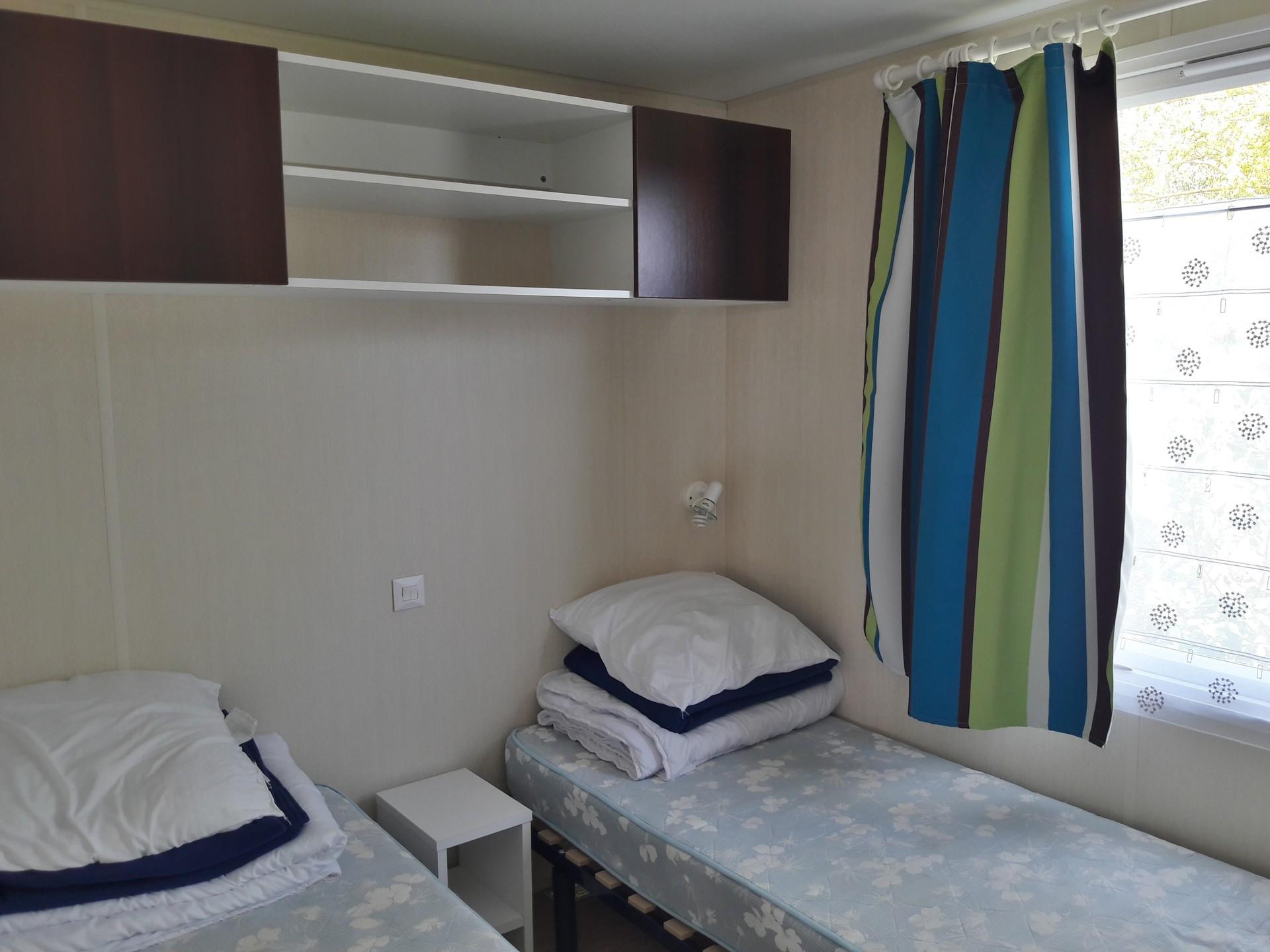 Mobilhome Camping à Cancale, MOBIL HOME 58 : Les Clos Fleuris